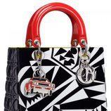 Bolso bicolor de la colección 'Lady Art' de Dior