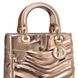 Bolso metalizado de la colección 'Lady Art' de Dior