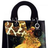Bolso negro estampado de la colección 'Lady Art' de Dior