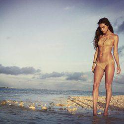 Alessandra Ambrosio lanza una nueva colección de trajes de baño para su firma Ale by Alessandra