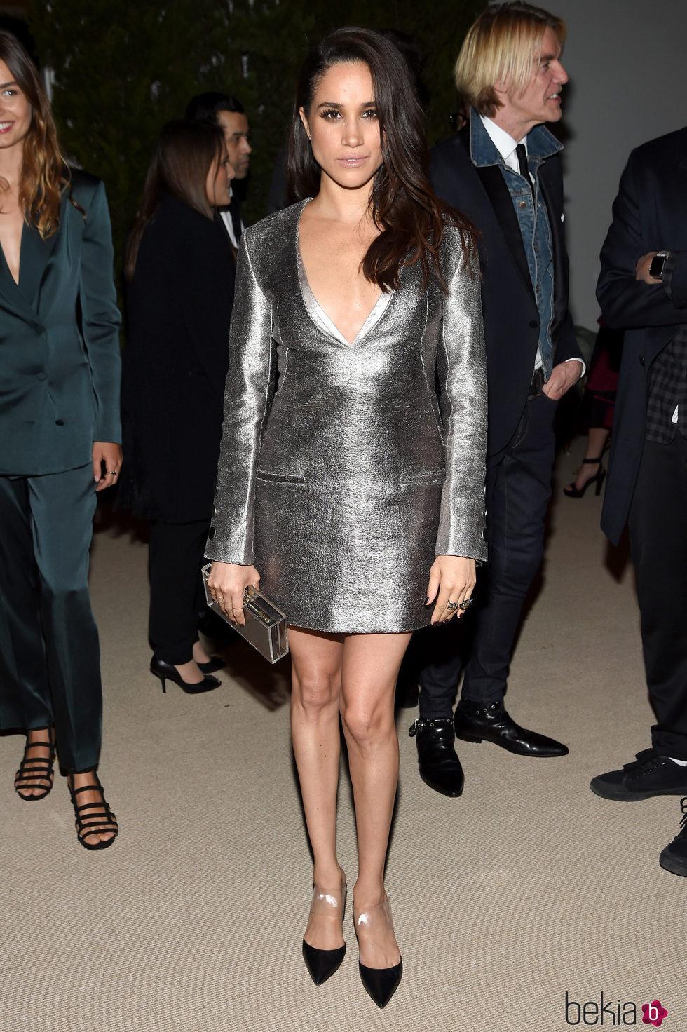 Meghan Markle en la 12ª edición de los CFDA/Vogue Fashion Fund Awards en 2015