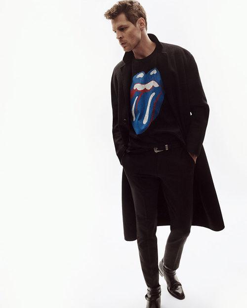 Camiseta de los Rolling Stones de Zara en su colección limitada