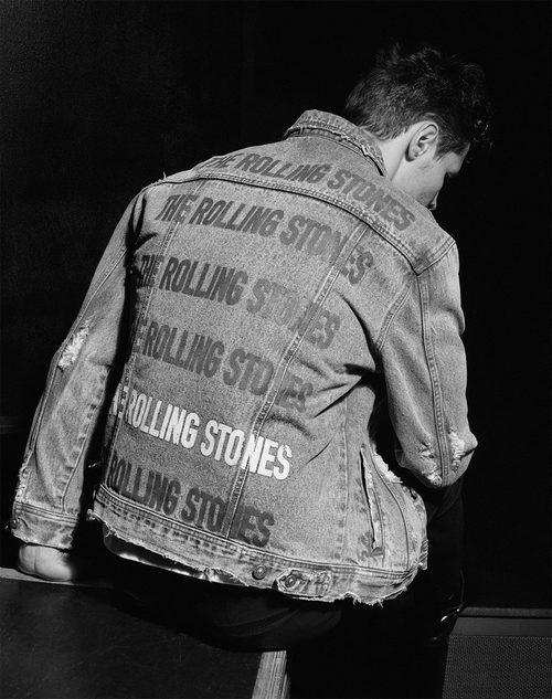 Chaqueta vaquera de los Rolling Stones de Zara