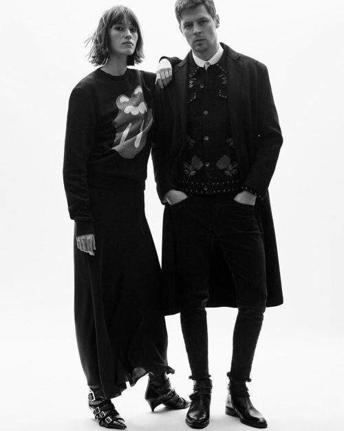 Ropa para hombre y mujer de la colección limitada de Zara inspirada en los Rolling Stones
