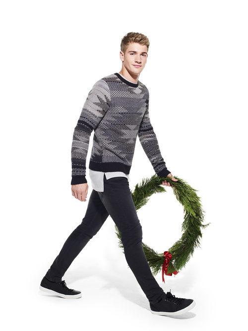 Jersey estampado de Primark colección Navidad 2016