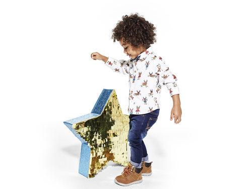 Camisa estampada de Primark colección niños Navidad 2016