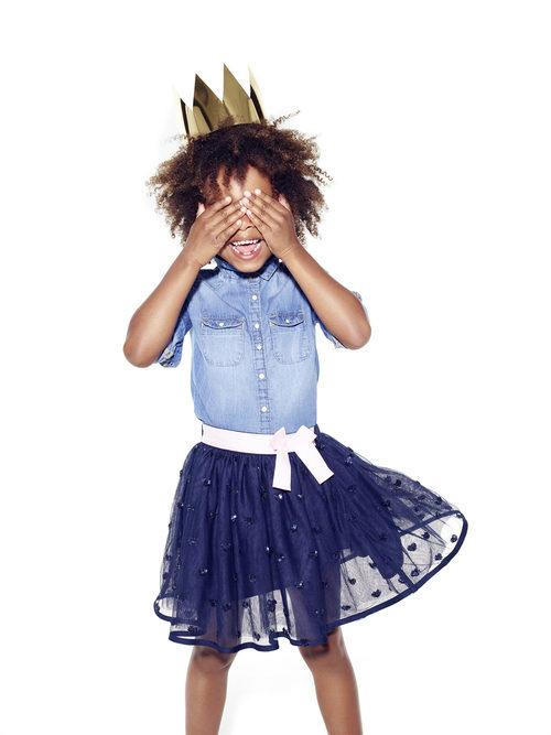 Falda de tul de Primark colección niños Navidad 2016