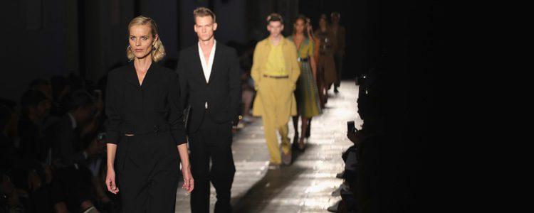 Desfile mixto de Bottega Veneta primavera/verano 2017 en la Milán Fashion Week