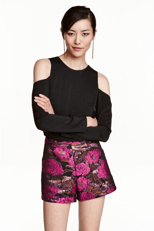 Shorts estampados de H&M colección Navidad 2016