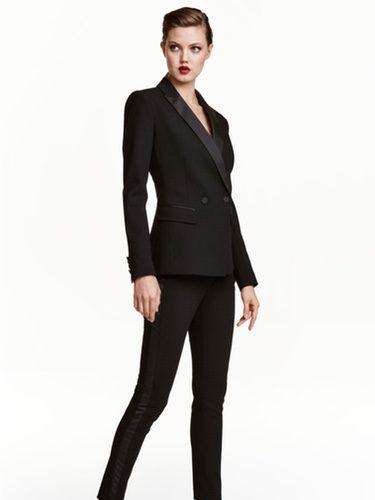 Esmoquin negro de H&M colección Navidad 2016