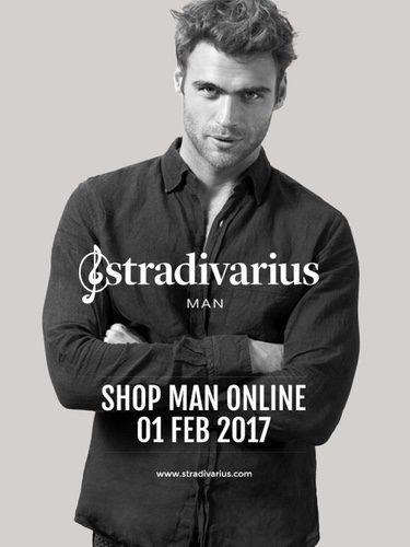 Stradivarius amplía su colección y añade ropa para hombres