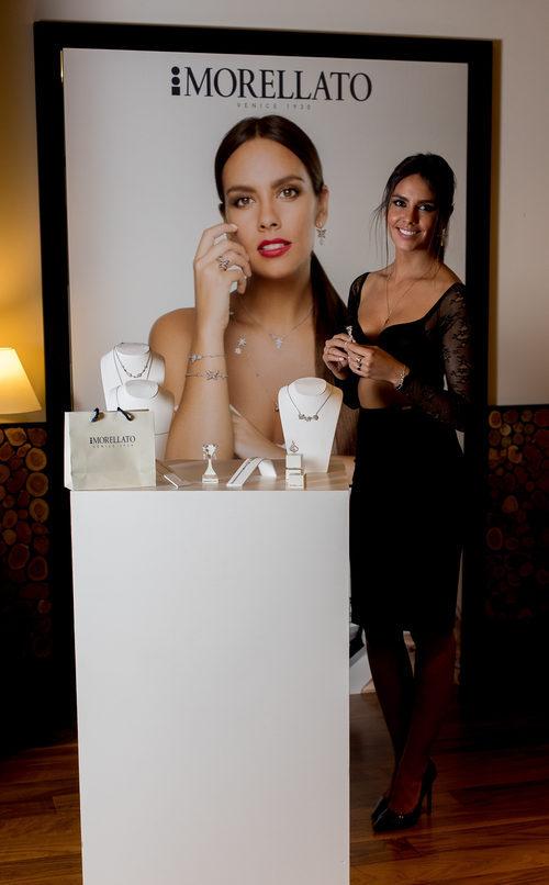 Cristina Pedroche con las joyas de la colección de Morellato