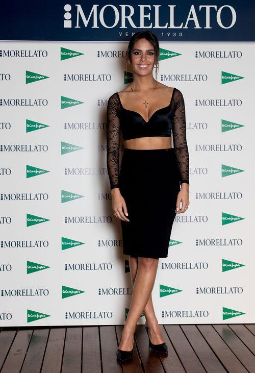 Cristina Pedroche en el photocall de la presentación de su línea de joyas Morellato