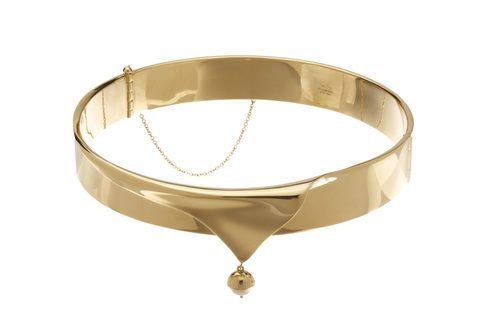 Anillo dorado de la colección de Eddie Borgo para Tiffany & Co