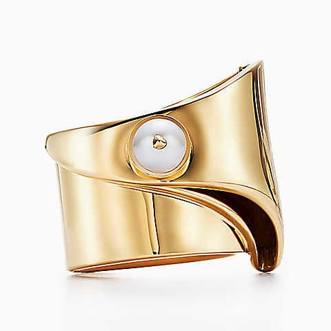 Anillo grande dorado de Eddie Borgo para Tiffany & Co