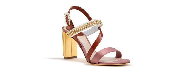Sandalias de piel de la selección de accesorios para Navidad 2016 de Dior