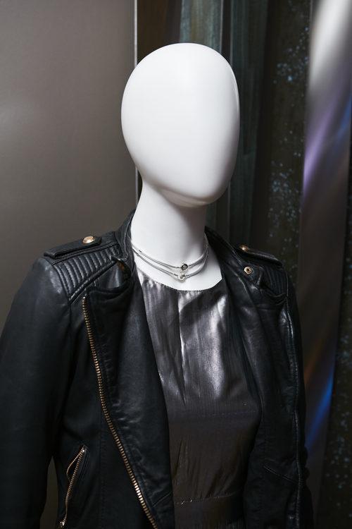 Collar plateado de la colección Navidad 2016 de Pandora