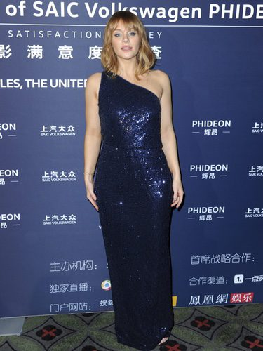 Bryce Dallas Howard con un vestido brillante en la 21ª Edición de los Huading Global Film Awards