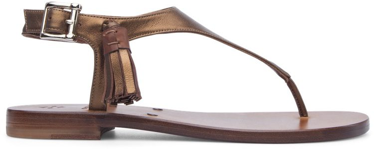 Sandalias con detalles metalizados de Cartujano primavera/verano 2017