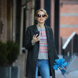 Naomi Watts con un look informal en Nueva York