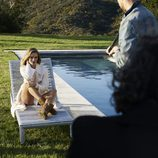 Rosie Huntington-Whiteley en el making off de UGG invierno 2017