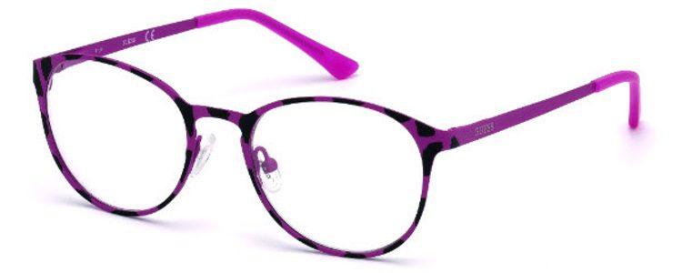 Gafas de montura redonda de la colección 'Eye Candy' de Guess