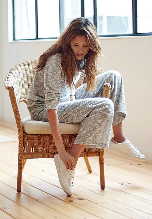 Pijama de color gris de Women'secret colección invierno 2017