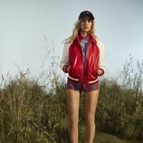 Pantalón corto a rayas de Tommy Hilfiger colección Resort 2017