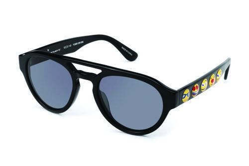 Gafas de sol negras de la colección de Jeremy Scott para Italia Independent