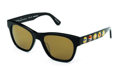 Gafas de sol con cristales transparentes de la colección de Jeremy Scott para Italia Independent