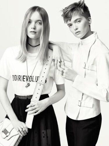 Camisetas blancas de Dior primavera/verano 2017