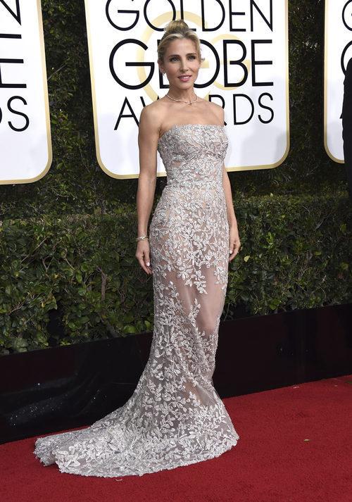 Elsa Pataky con un vestido joya en los Globos de Oro 2017