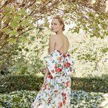 Vestido floral de Dolores Promesas primavera/verano 2017
