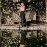 Vestido bicolor de Dolores Promesas primavera/verano 2017