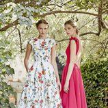 Vestidos de corte midi de Dolores Promesas primavera/verano 2017