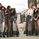 Vestidos con transparencias de Louis Vuitton primavera/verano 2017