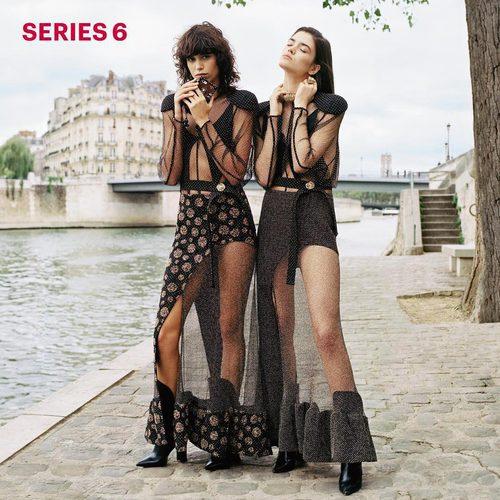Vestidos de color negro de Louis Vuitton primavera/verano 2017