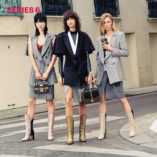 Chaquetas grises de Louis Vuitton primavera/verano 2017