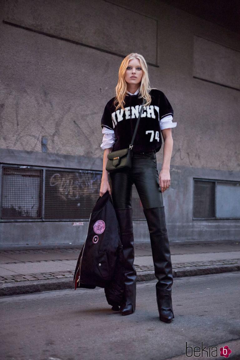 Elsa Hosk como imagen de Givenchy para invierno 2017