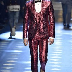 Colección 'DGPrince' otoño/invierno 2017/2018 de Dolce & Gabbana sobre la Milán Fashion Week