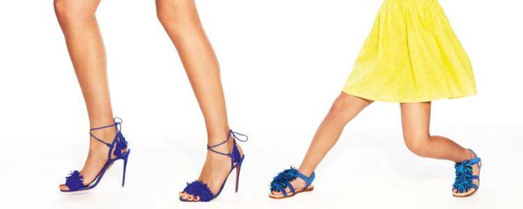 Las En Niñas Su Calzado Adapta El A Aquazzura De Mujer Colección kXuPOZiT