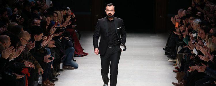Julien Fournié en la pasarela de la Semana de la Moda de París 2015