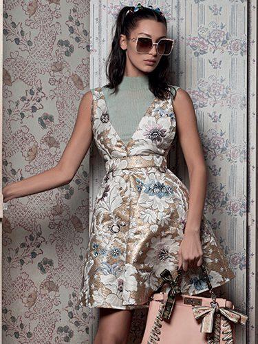 Bella Hadid se transforma en la nueva embajadora de la firma Fendi