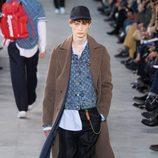 Chaqueta denim de Louis Vuitton y Supreme otoño/invierno 2017/2018 en la París Fashion Week