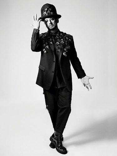 Boy George con un look punk de Dior para primavera/verano 2017