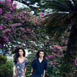 Lily Aldridge y McKenna Hellam en la campaña primavera/verano 2017 de Salvatore Ferragamo