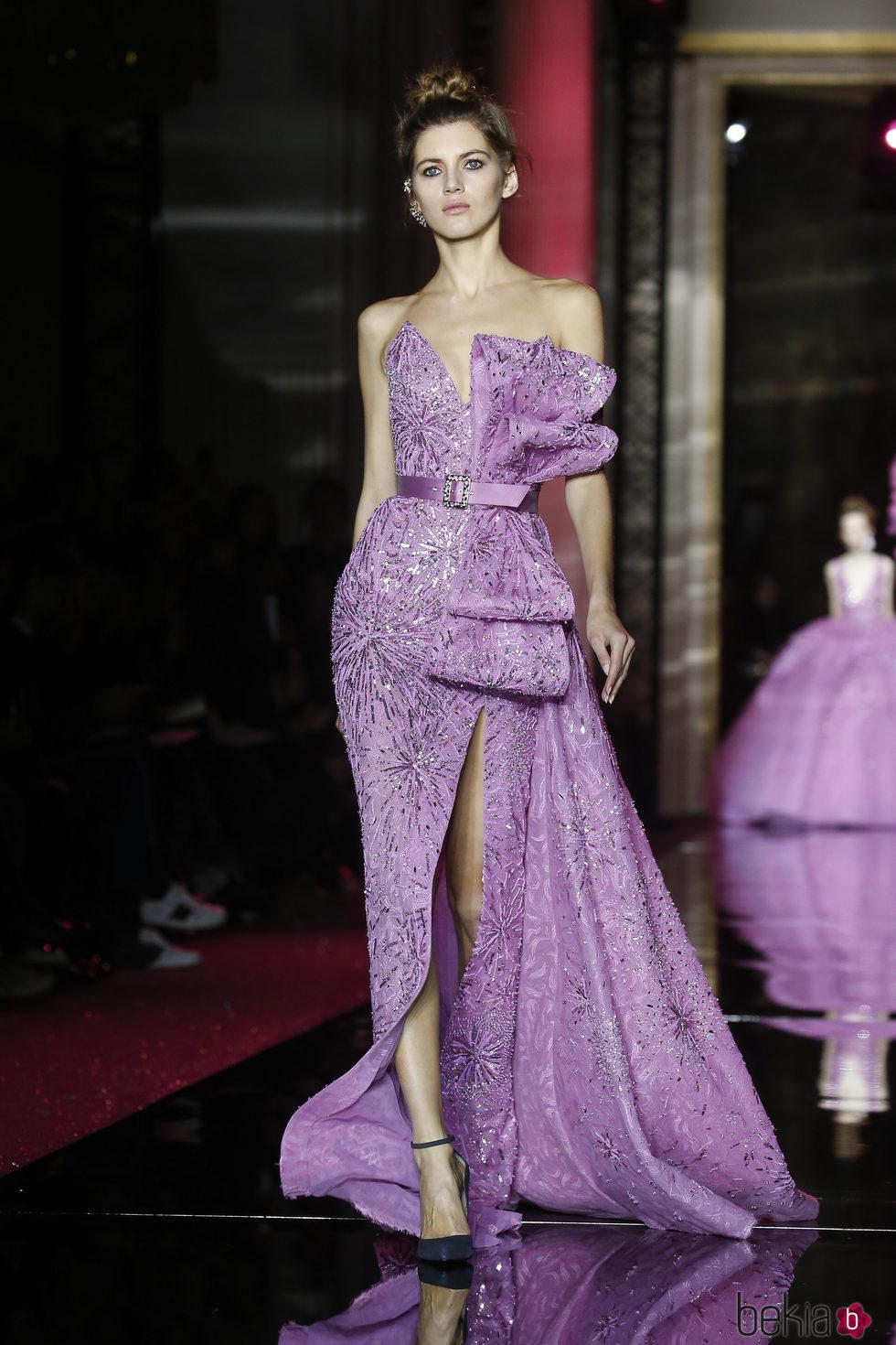 Hermosa Vestidos De Novia Del Diseñador De Alta Costura Modelo ...