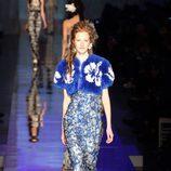 Vestido largo de Jean Paul Gaultier primavera/verano 2017 en la Semana de la Alta Costura de París