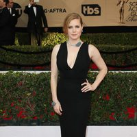 Amy Adams con un vestido recto en los Screen Actors Guild Awards 2017