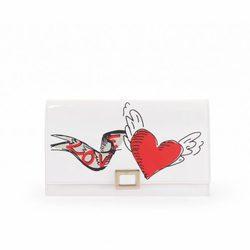 Cartera blanca de Roger Vivier colección San Valentín 2017